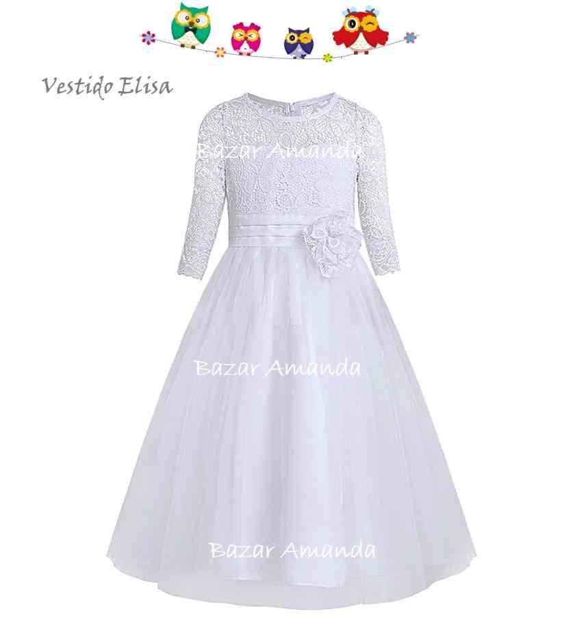 Vestido Elisa Blanco
